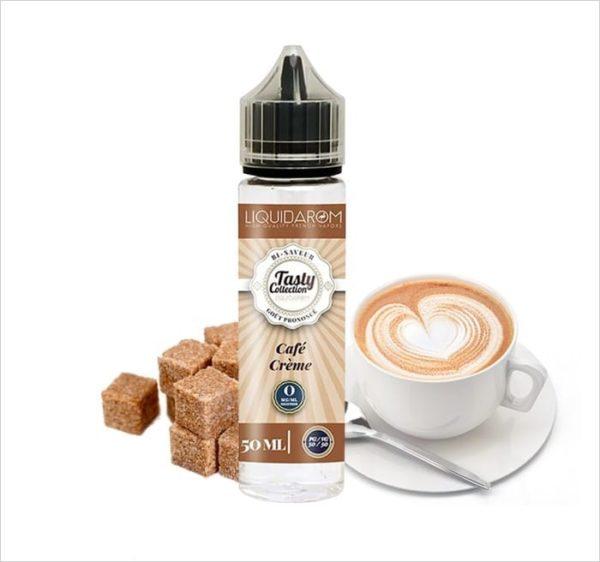 E-Liquide CAFÉ CRÈME - TASTY COLLECTION - LIQUIDAROM