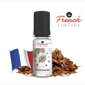 E-Liquide BLOND FRANÇAIS SENSATION ORIGINELLE - LE FRENCH LIQUIDE