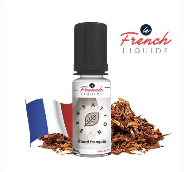 E-Liquide BLOND FRANÇAIS SENSATION ORIGINELLE - LE FRENCH LIQUIDE