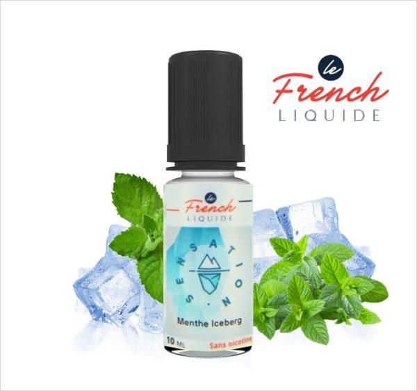 E-Liquide MENTHE ICEBERG SENSATION FRAICHE - LE FRENCH LIQUIDE