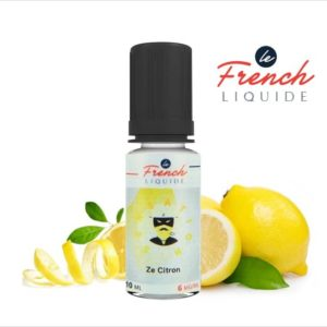 E-Liquide ZE CITRON SENSATION NATURE - LE FRENCH LIQUIDE