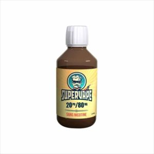 BASE NEUTRE 120ML 20/80 - SUPERVAPE