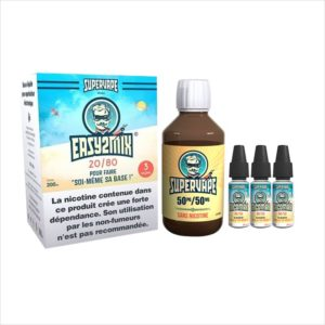 BASE EASY2MIX 200ML 20/80 3MG  - SUPERVAPE
