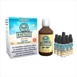 BASE EASY2MIX 200ML 20/80 6MG  - SUPERVAPE