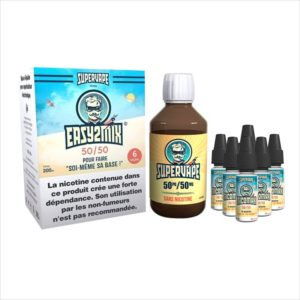 BASE EASY2MIX 200ML 50/50 6MG  - SUPERVAPE