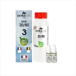 PACK DIY 140ML 20/80 3MG - EXTRAPURE