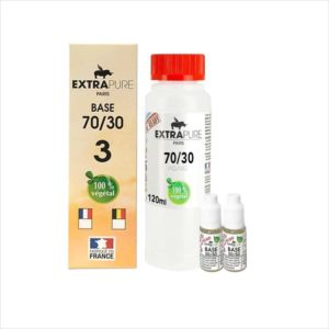 PACK DIY 140ML 70/30 3MG - EXTRAPURE
