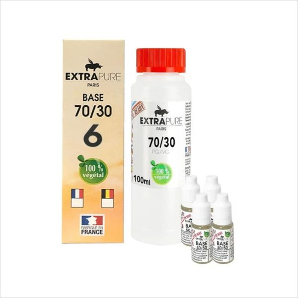 PACK DIY 140ML 70/30 6MG - EXTRAPURE