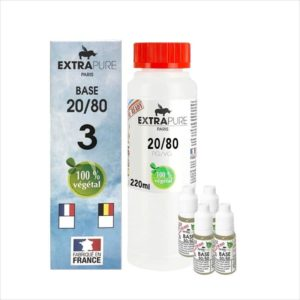 PACK DIY 260ML 20/80 3MG - EXTRAPURE