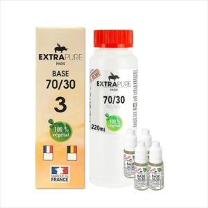 PACK DIY 260ML 70/30 3MG - EXTRAPURE