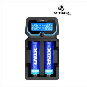 Chargeur d'accus X2 - Xtar eliquide-DIY.fr