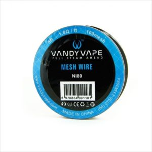 Bobine Mesh Wire NI80-100 Vandy Vape eliquide-DIY.fr