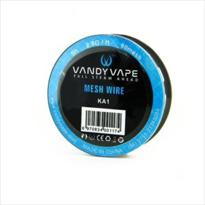 Bobine Mesh Wire Ka1-80 Vandy Vape eliquide-DIY.fr
