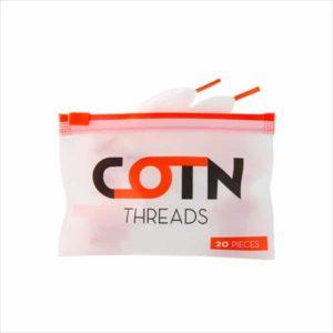 COTN Threads - Mèches de coton eliquide-DIY.fr