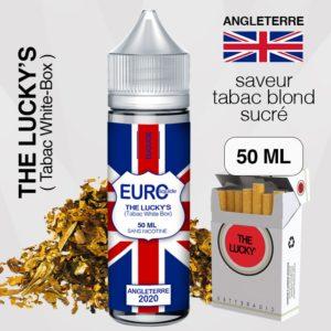 "E-liquide "" ANGLETERRE "" 50 ML - EUROLIQUIDE eliquide-DIY.fr"