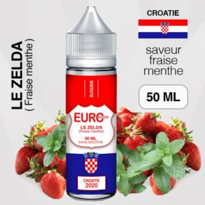 "E-liquide "" CROATIE "" 50 ML - EUROLIQUIDE eliquide-DIY.fr"