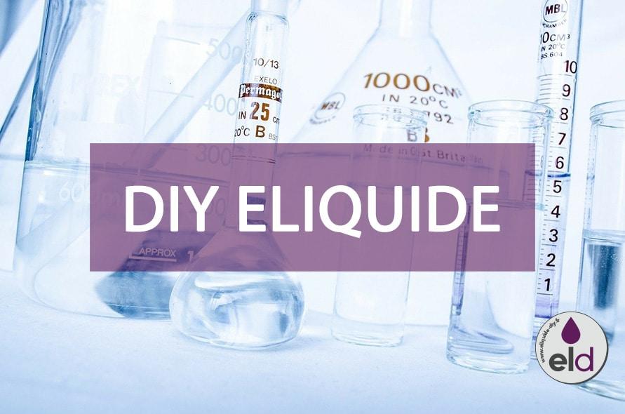 DIY E-liquide : Comment fabriquer son e-liquide pour cigarette électronique