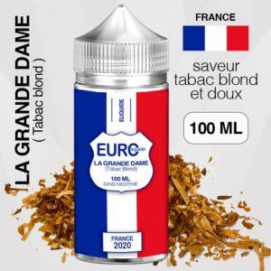 "E-liquide "" FRANCE "" 100 ML - EUROLIQUIDE eliquide-DIY.fr"