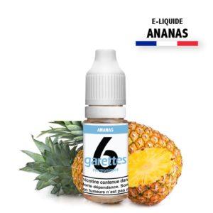 6garettes - E liquide Saveur Ananas