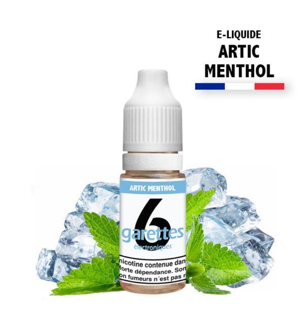 6garettes - E liquide Saveur artic menthol
