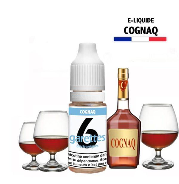 6garettes - E liquide Saveur cognaq