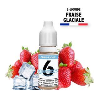 E liquide 6garettes saveur fraise glaciale eliquide-DIY.fr