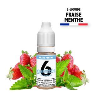 E liquide 6garettes saveur fraise menthe eliquide-DIY.fr