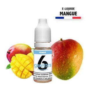 E liquide 6garettes saveur mangue eliquide-DIY.fr