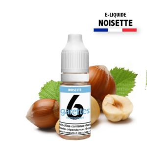 E liquide 6garettes saveur noisette eliquide-DIY.fr