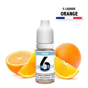 E liquide 6garettes saveur orange eliquide-DIY.fr