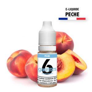 E liquide 6garettes saveur pèche eliquide-DIY.fr