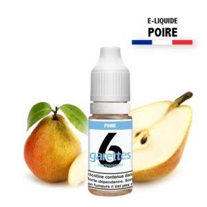 E liquide 6garettes saveur poire eliquide-DIY.fr