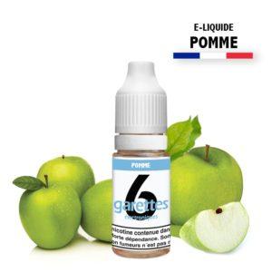 E liquide 6garettes saveur pomme eliquide-DIY.fr