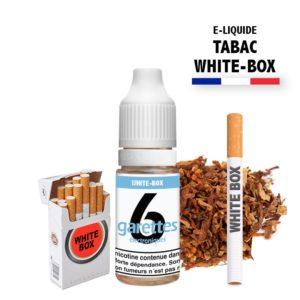 E liquide 6garettes saveur tabac white box eliquide-DIY.fr