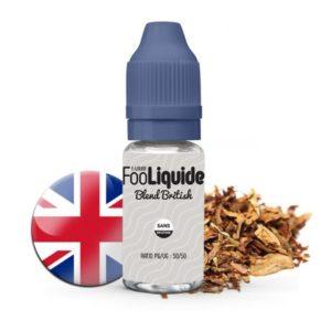 Fooliquide - E-liquide saveur Blent British Tabac
