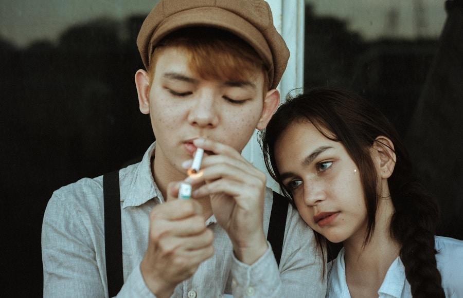 Jeunes fumeurs
