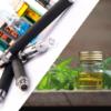 Le CBD THC cannabidiol nicotine e-cigarette e-liquide