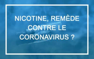 La nicotine est-elle une protection contre le coronavirus?