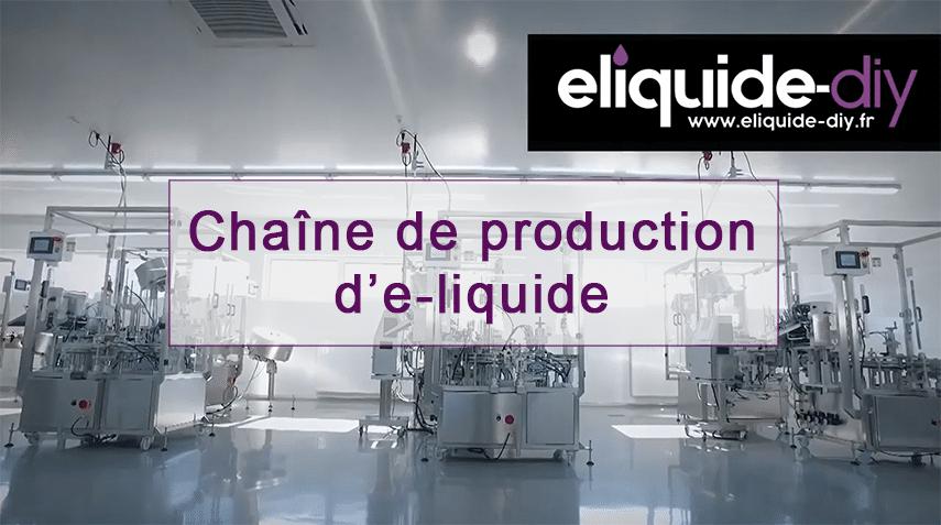 Vidéo : Laboratoire de production de nos e-liquides premium