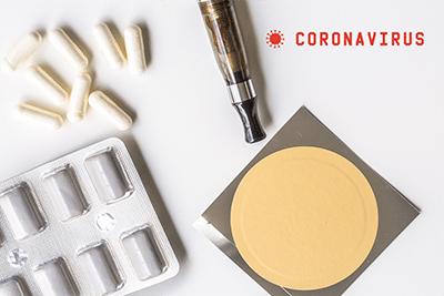 patch à la nicotine et Coronavirus