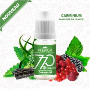 E-Liquide Carminium - 770 eliquide-DIY.fr