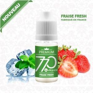 E-Liquide Fraise Fresh - 770 eliquide-DIY.fr