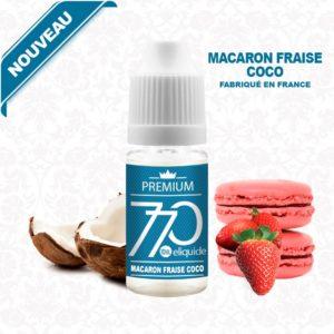 E-Liquide Macaron Fraise Coco - 770 eliquide-DIY.fr