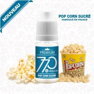 E-Liquide Pop Corn Sucré - 770 eliquide-DIY.fr