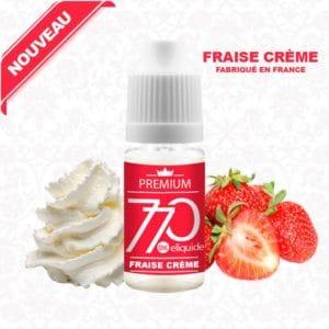 E-Liquide Fraise Crème - 770 eliquide-DIY.fr