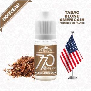 E-Liquide Tabac Blond Américain - 770 eliquide-DIY.fr