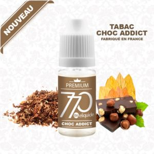 E-Liquide Tabac Choc Addict - 770 eliquide-DIY.fr
