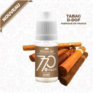 E-Liquide Tabac D-DOF - 770 eliquide-DIY.fr