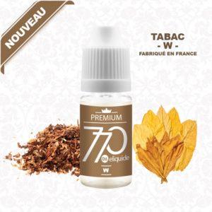 E-Liquide Tabac W - 770 eliquide-DIY.fr