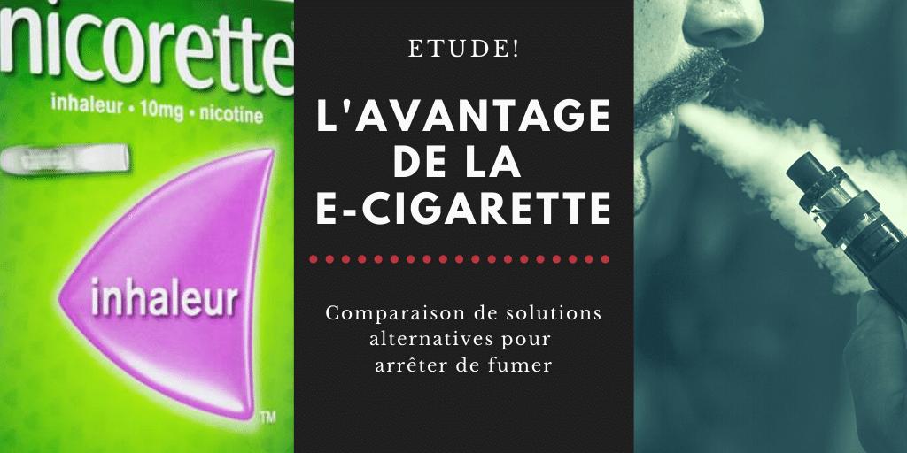 Des résultats positifs pour la cigarette électronique